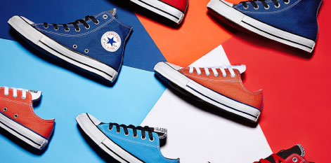 Customiser des sneakers Converse, c'est possible !