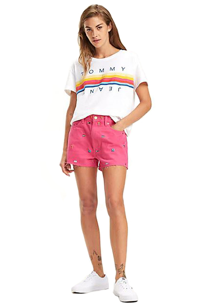 tee shirt femme tommy jeans